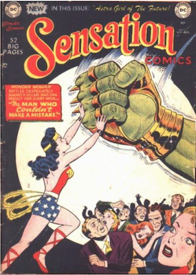 Sensation Comics #99. Click for current values.
