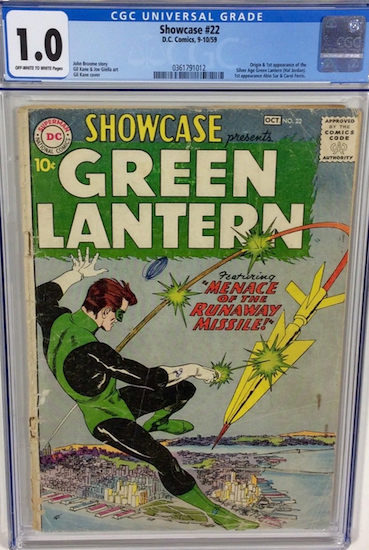 Wouldn't You Rather Own... Showcase #22 CGC 1.0?