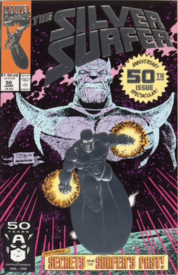 Silver Surfer v3 #50. Click for values