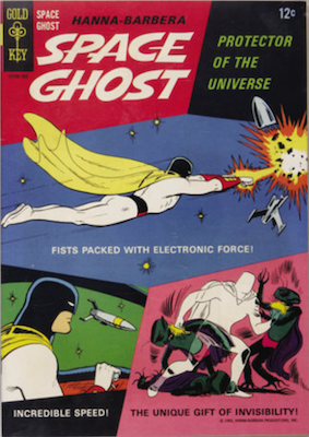 Space Ghost #1 (1967), Gold Key. Click for values