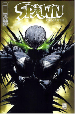 Spawn #186 (2nd printing). Click for values.