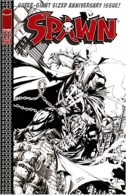 Spawn #200 (Finch B&W). Click for values.
