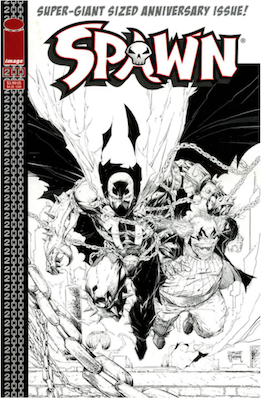 Spawn #200 (Lee B&W). Click for values.
