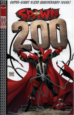 Spawn #200 (McFarlane). Click for values.