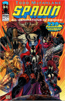 Spawn #220 (McFarlane C). Click for values.