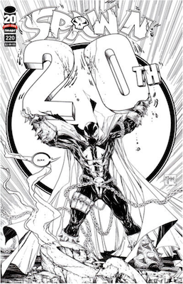 Spawn #220 (McFarlane F). Click for values.