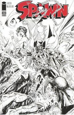 Spawn #259 (Cover B). Click for values.