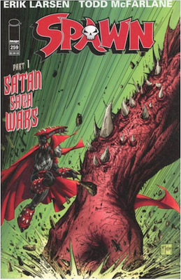 Spawn #259 (Cover A). Click for values.