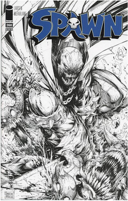 Spawn #260 (Cover B). Click for values.