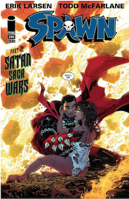 Spawn #260 (Cover A). Click for values.