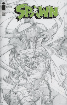Spawn #261 (Cover B). Click for values.