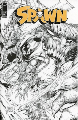 Spawn #262 (Cover B). Click for values.