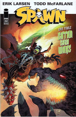 Spawn #262 (Cover A). Click for values.