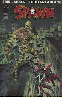 Spawn #264 (Cover A). Click for values.