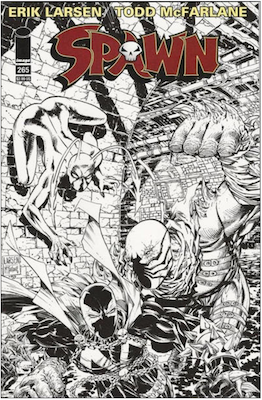 Spawn #265 (Cover B). Click for values.