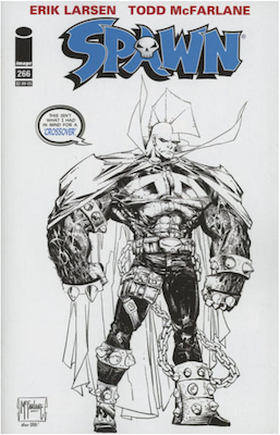 Spawn #266 (Cover D). Click for values.