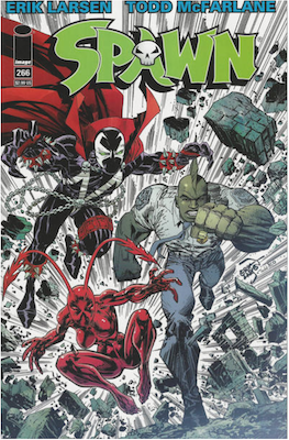 Spawn #266 (Cover A). Click for values.
