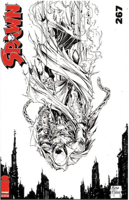 Spawn #267 (Cover B). Click for values.