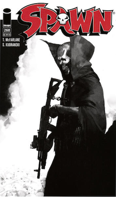 Spawn #268 (Cover B). Click for values.