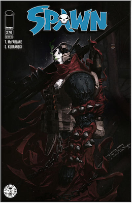 Spawn #270 (Cover A). Click for values.