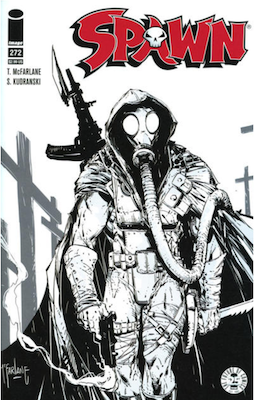 Spawn #272 (Cover B). Click for values.