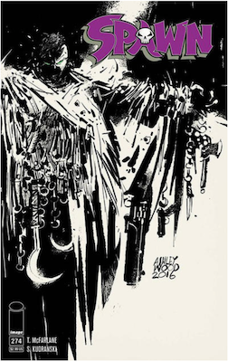 Spawn #274 (Cover B). Click for values.