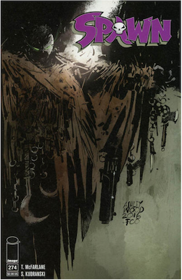 Spawn #274 (Cover A). Click for values.
