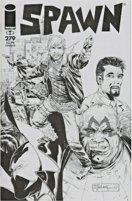 Spawn #279 (Walking Dead). Click for values.