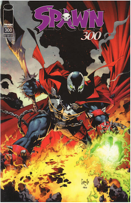 Spawn #300 (Cover C). Click for values.