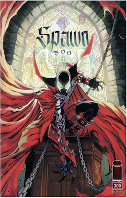 Spawn #300 (Cover G). Click for values.