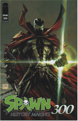 Spawn #300 (Cover A). Click for values.