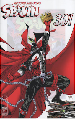 Spawn #301 (McFarlane). Click for values.