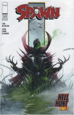 Spawn #303 (Cover A). Click for values.