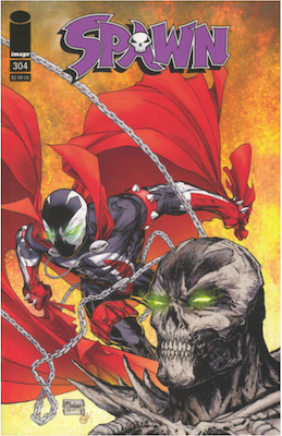Spawn #304 (Cover B). Click for values.