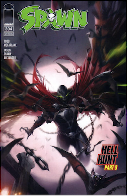 Spawn #304 (Cover A). Click for values.