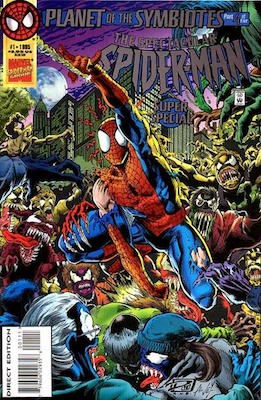 Spectacular Spider-Man Super Special: Carnage appearance. Click for values