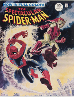 Spectacular Spider-Man Magazine #2: Full color, Green Goblin story. Click for values