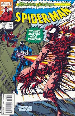 Maximum Carnage Part 8: Spider-Man #36