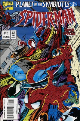 Spider-Man Super Special: Carnage appearance. Click for values