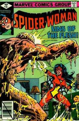 Spider-Woman #18. Click for values.