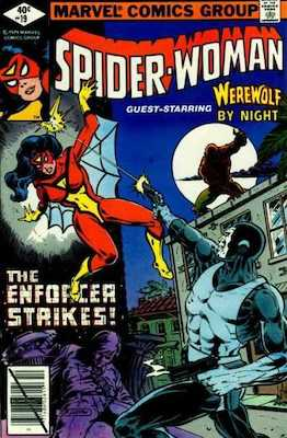Spider-Woman #19. Click for values.