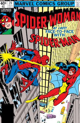 Spider-Woman #20. Click for values.