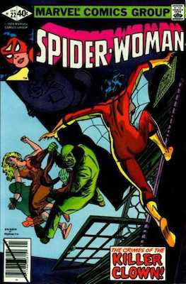 Spider-Woman #22. Click for values.