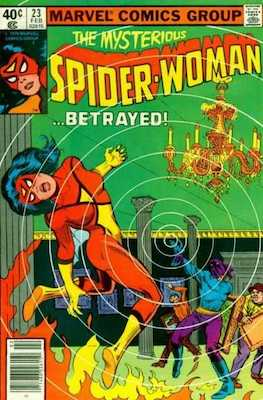 Spider-Woman #23. Click for values.