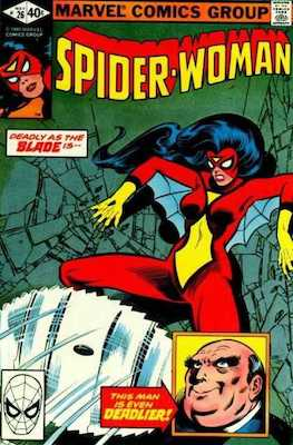 Spider-Woman #26. Click for values.