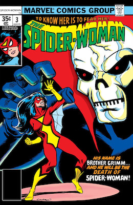 Spider-Woman #3. Click for values.