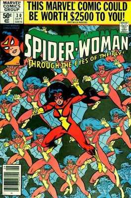 Spider-Woman #30. Click for values.
