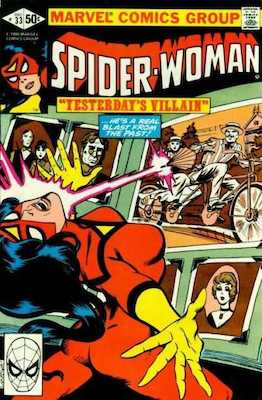 Spider-Woman #33. Click for values.