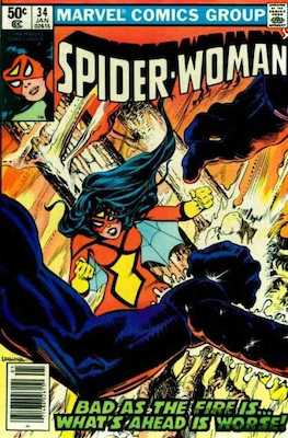 Spider-Woman #34. Click for values.