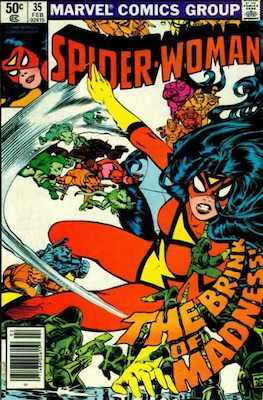Spider-Woman #35. Click for values.